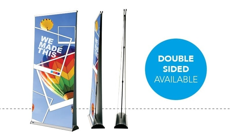 Double Sided Retractable Banner Stands